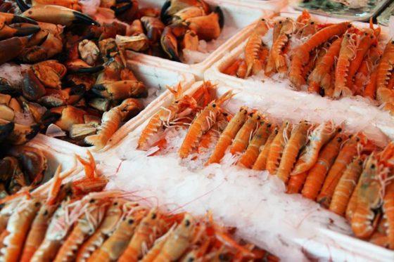 Перевозка морепродуктов